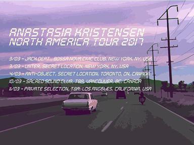 anastasia kristensen truants tour dates